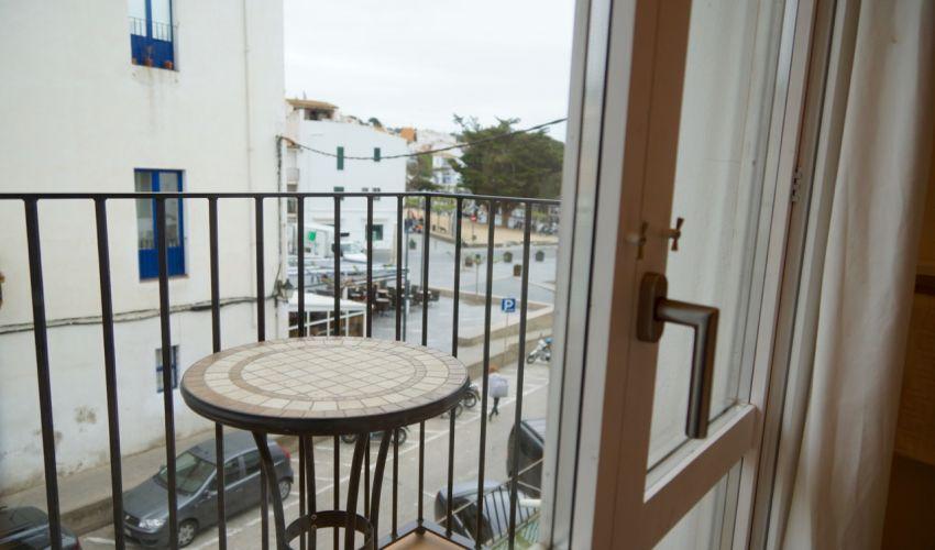 Habitació Doble amb balcó i vista lateral al mar